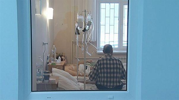 Vague de grippe mortelle en Ukraine