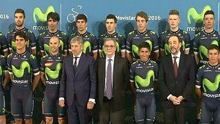 Movistar apresenta equipa para 2016