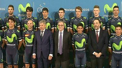 Ciclismo: presentata a Madrid la Movistar di Quintana e Valverde
