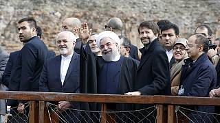 Iran's Rouhani in Paris to drum up business with France