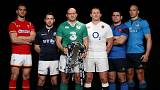 Six Nations' captains gather for 2016 tournament launch