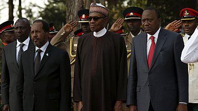 Trois leaders africains rendent hommage aux soldats kényans morts en Somalie