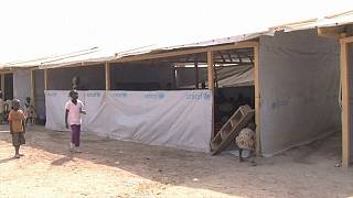 Refugee children in Bangui: school against armed groups