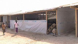 Refugee children in Bangui: school against armed groups