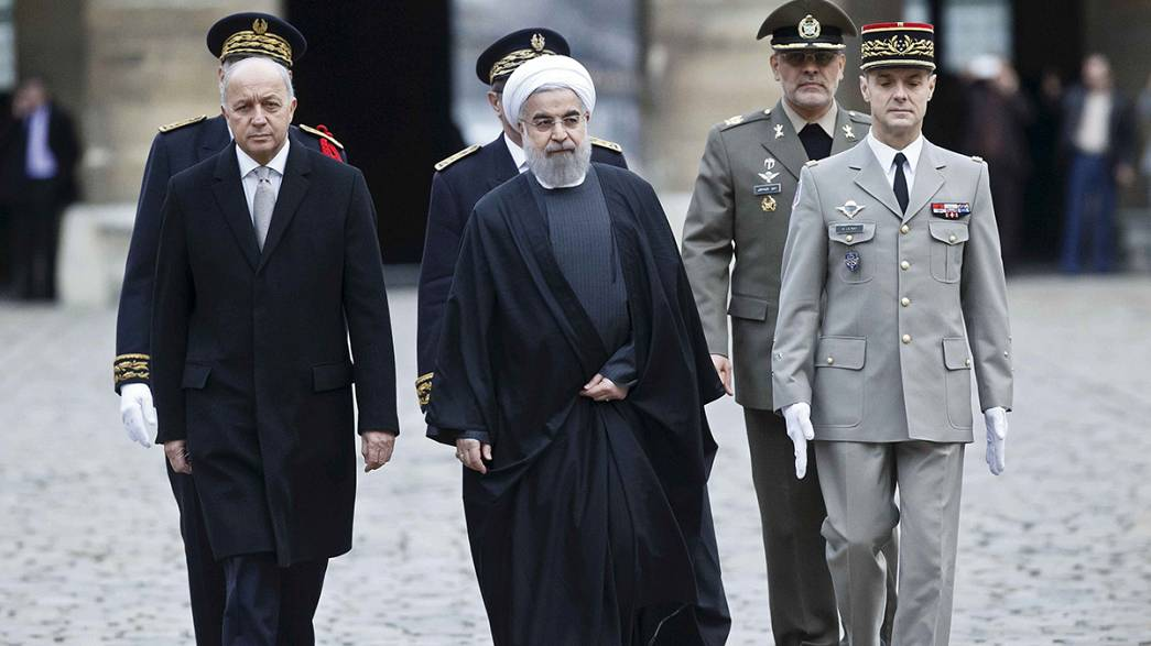 Big deals in France on latest leg of Rouhani trip to Europe