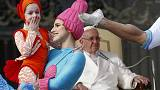 Цирк приехал в Ватикан
