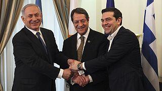 تل أبيب وأثينا ونيقوسيا اليد في اليد لاستغلال غاز شرق البحر المتوسط