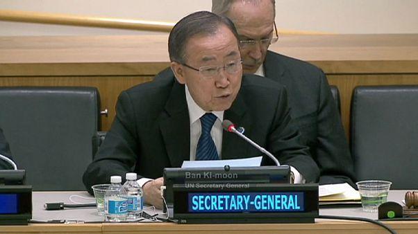 """Ban Ki Moon:""""Batı Şeria'daki Yahudi yerleşimleri hukuka aykırı"""""""