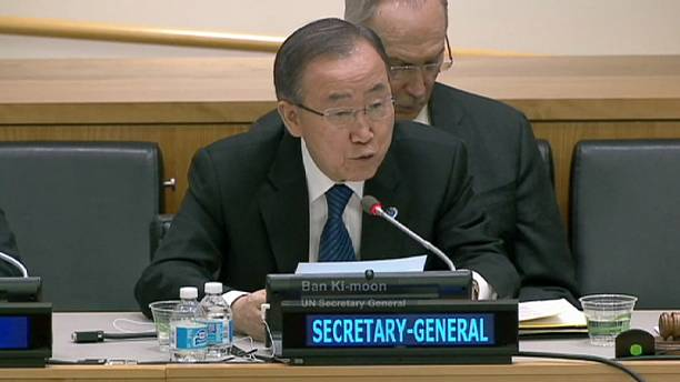 "Ban Ki Moon dismisses Netanyahu's ""bolstering terrorism"" accusation"