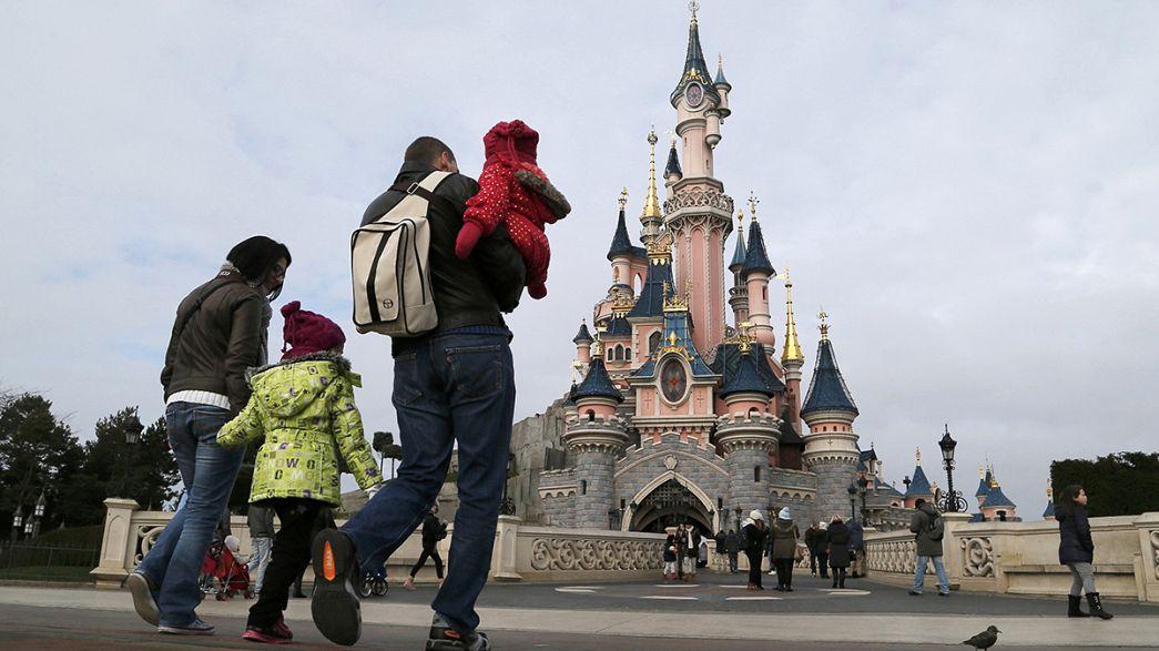 La policía francesa arresta a un hombre armado en un hotel de Disneyland París