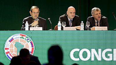 La CONMEBOL votará a Infantino en las próximas elecciones de la FIFA