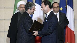 Paris et Téhéran signent des contrats pour 15 milliards d'euros