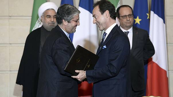 France and Iran agree 15 billion euros worth of business deals