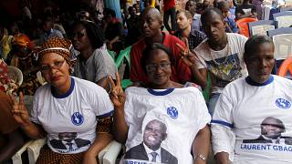 'Gbagbo is innocent' - the former president's supporters cry out