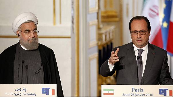 Iran and France agree to cooperate to fight terrorism and resolve world crises