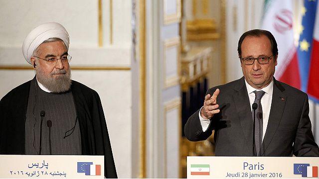 Франция и Иран договорились вместе бороться с терроризмом