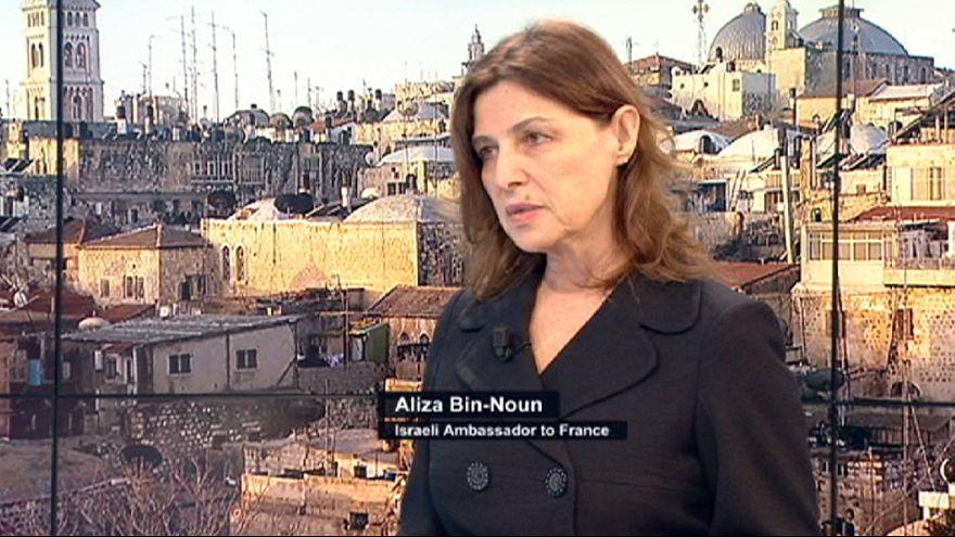 Izrael elítéli Rohani európai látogatását