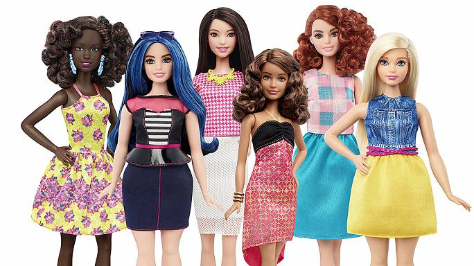 Megújul Barbie – ezentúl duci, nyúlánk, és színes bőrű is választható