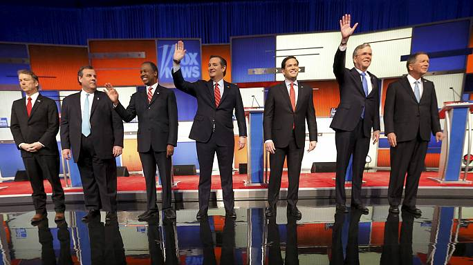 Trump boycotts Fox news debate but still takes centre stage in presidential race