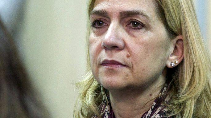 Court stuns Spain by demanding Princess Cristina face trial