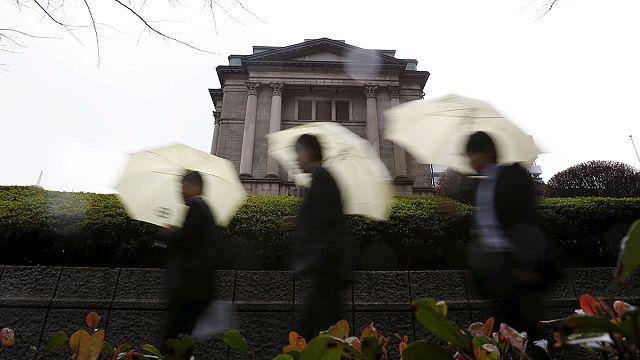 المركزي الياباني يعتمد فائدة سلبية لتنشيط الاقتصاد