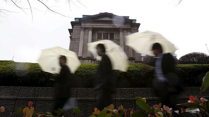Японии опускает ставку по депозитам ниже нуля