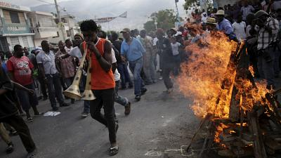Haïti : manifestations pour réclamer la tenue de l'élection