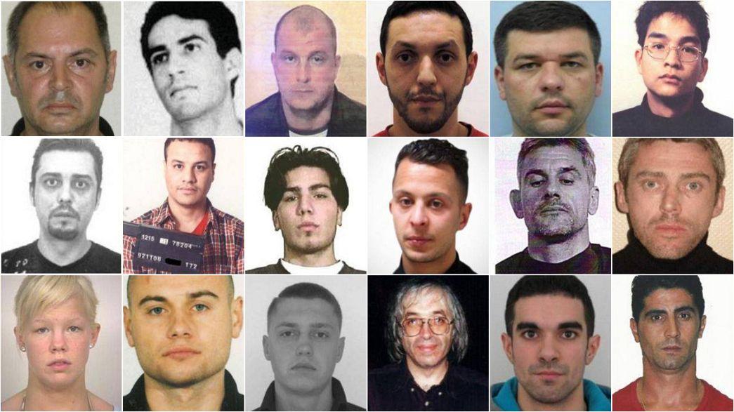 Abdeslam encabeza la página web que ha estrenado Europol con los hombres más buscados en Europa