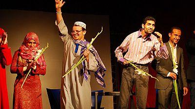 Egypte : des musiciens malvoyants sur scène