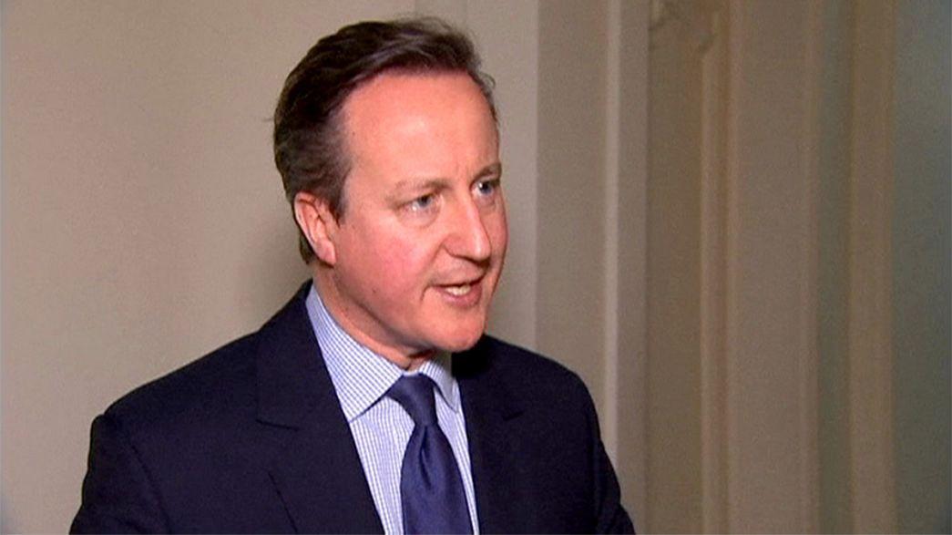 David Cameron dice que las propuestas de la UE son insuficientes