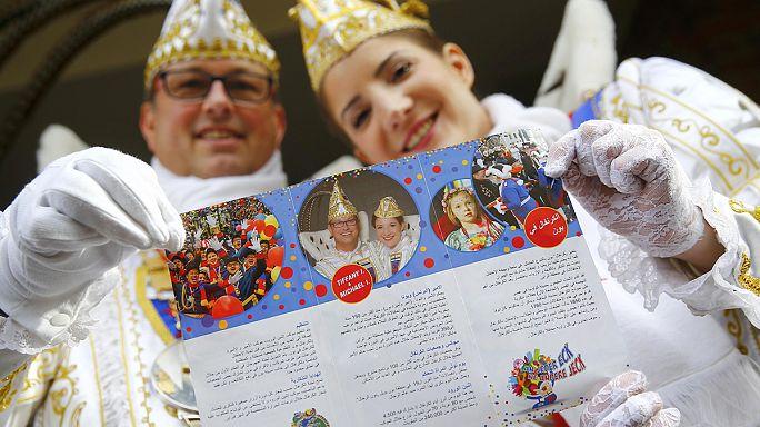 Arabische Infoprospekte und 3 Mal mehr Polizei: Countdown in der Karnevalshochburg