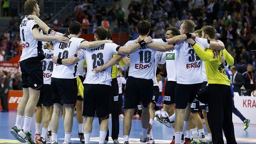 Германия и Испания сыграют в финале Евро по гандболу