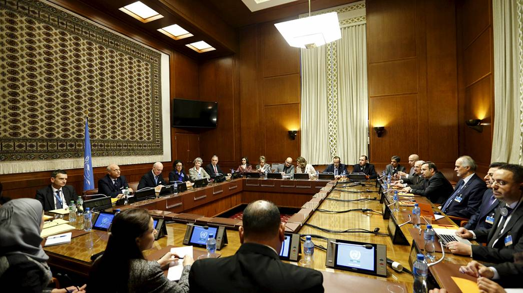 Syrian opposition says will engage in Geneva talks, but no negotiations, yet