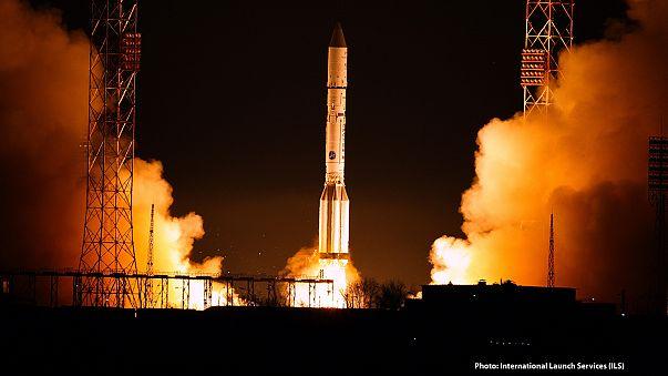 Ракета-носитель «Протон-М» вывела в космос спутник Eutelsat 9B