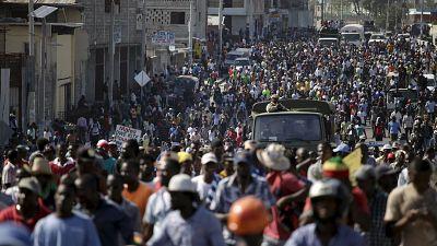 Haïti : manifestations de l'opposition pour le départ de Michel Martelly