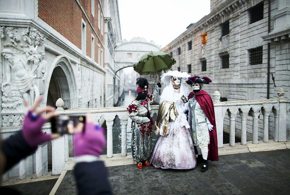 Bienvenue au Carnaval de Venise !