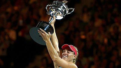 """Tennis """"total verrückt"""": Angelique Kerber aus Kiel gewinnt Australian Open"""