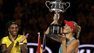 Australian Open: Angelique Kerber stuns Serena Williams to claim title