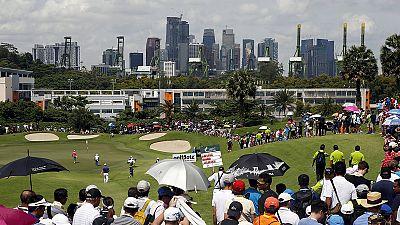 Liang Wen Chong lidera el Abierto de Singapur de golf con 5 golpes bajo par
