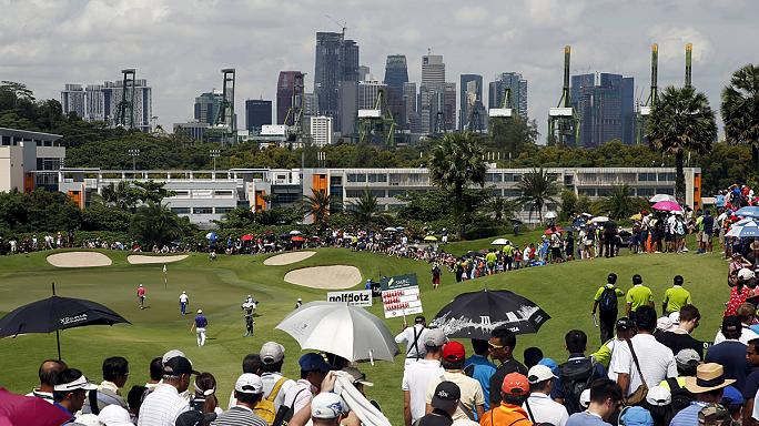 Golf: China's Liang Wen-chong leads in Singapore Open