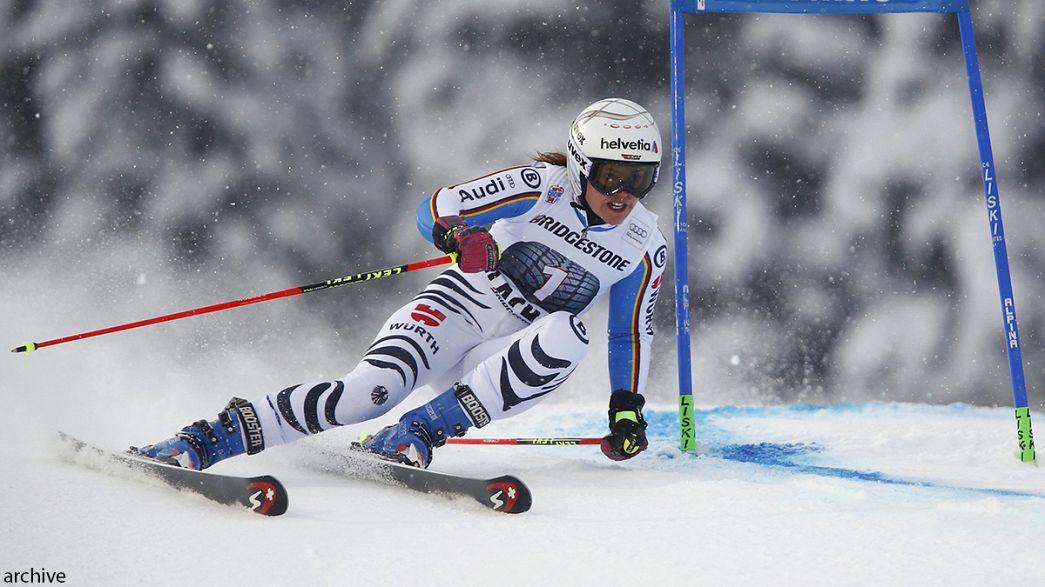 Виктория Ребенсбург выиграла гигантский слалом в Мариборе