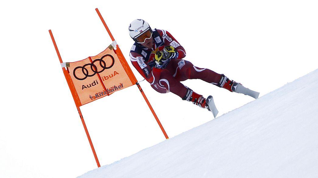 Abfahrt in Garmisch: Feuz bei norwegischem Sieg Dritter