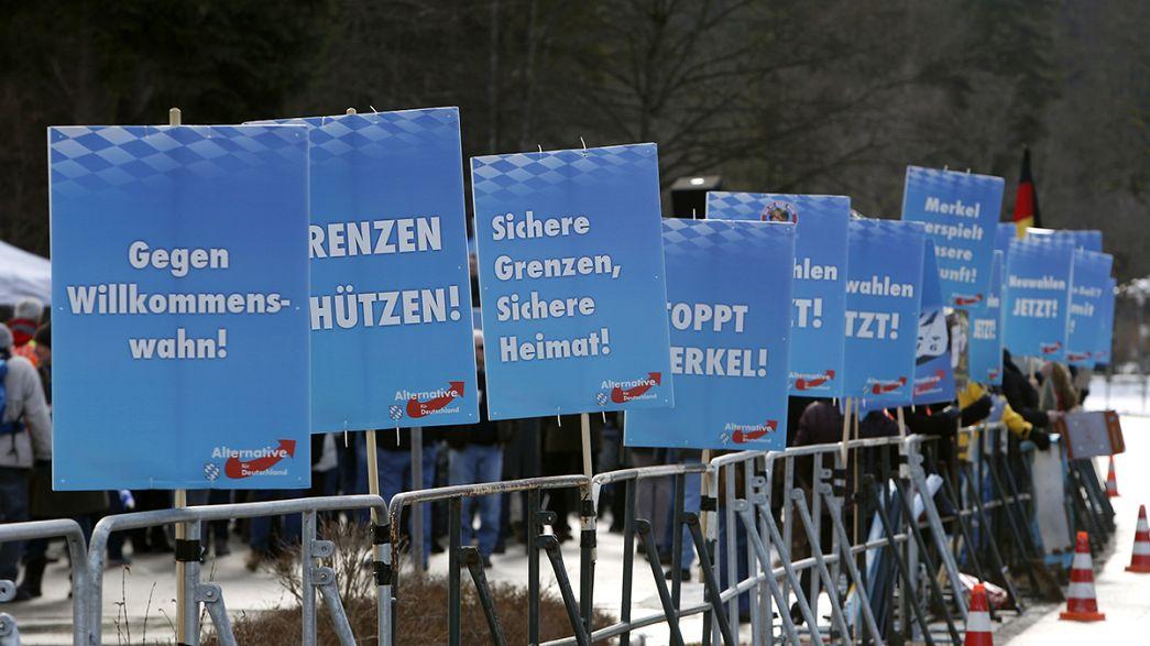 Alemanha: Partido populista defende uso de armas contra os migrantes