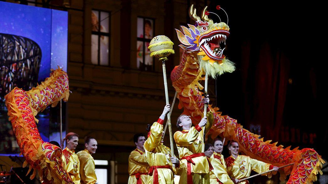 Chinesen in Portugal beginnen Feierlichkeiten zum neuen Jahr