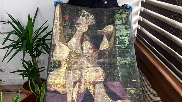 """Turkish police recover stolen """"Picasso"""" painting"""