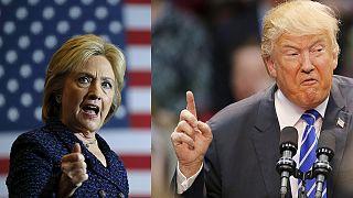 EUA: Hillary mais frágil que Trump antes das primárias do Iowa