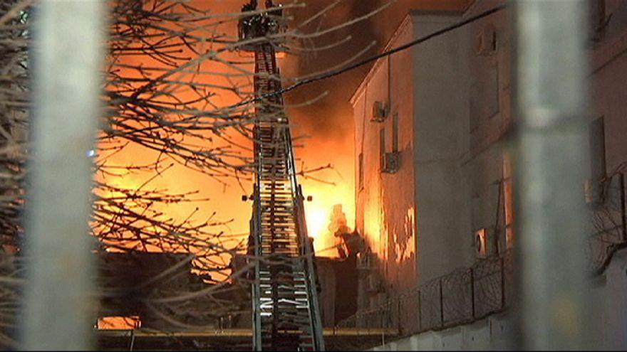 Brand in Moskauer Textilfabrik: 12 Tote