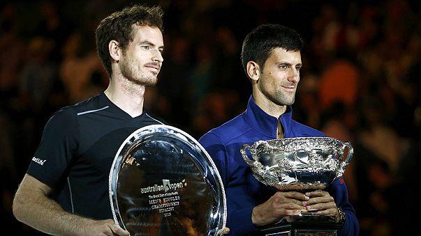 Open d'Australie - Novak Djokovic remporte son sixième titre face à Andy Murray