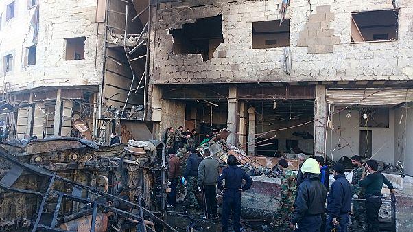 Syrien: Mehr als 60 Tote durch Bomben in Damaskus