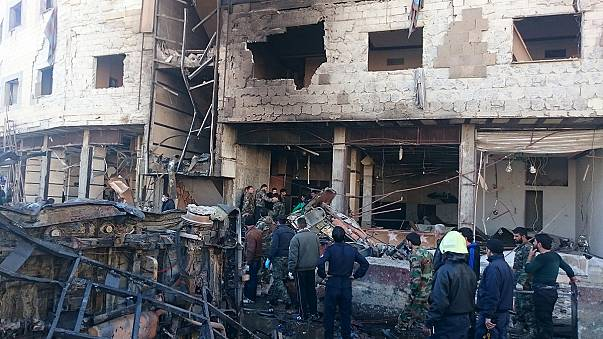 Πολύνεκρη επίθεση στη Δαμασκό - Οι τζιχαντιστές ανέλαβαν την ευθύνη